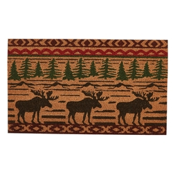 Moose Welcome Doormat