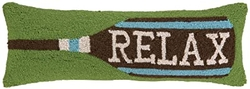 Relax Paddle Hooked Pillow - 8