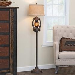 Vintage Lantern Floor Lamp