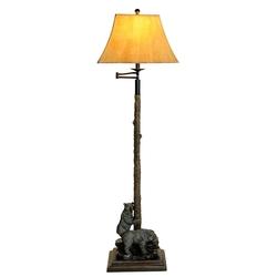 Curious Bear Floor Lamp - 62