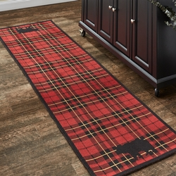 Sportsman Plaid Indoor/Outdoor Rug - 2' x 6'