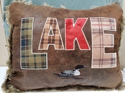 Loon Lake Pillow