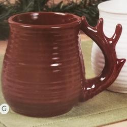 Antler Handle Mug Set