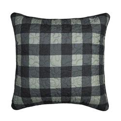 Bear Walk Decorative Pillow (Check)