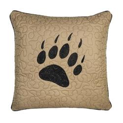 Bear Walk Paw Decorative Pillow