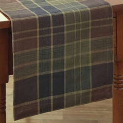 Frontier Plaid Table Runner - Two Sizes