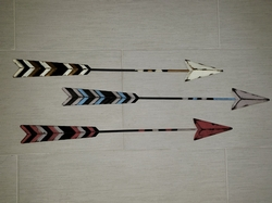 Arrow Wall Decor - Set of 3