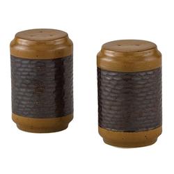 Sawmill Brown Salt and Pepper Shaker