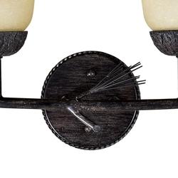 Sierra 3L Vanity Light Black Walnut
