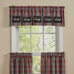 Wilderness Canoe Lined Patch Valance