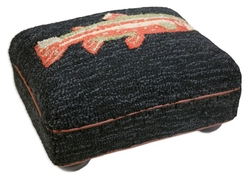 River Fish Foot Stool