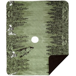 Howling Wolves Throw
