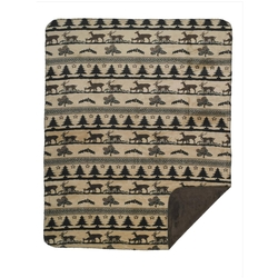 Deer Haven Throw and Pillow