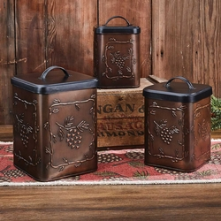 Valley Pine Canister - Set of 3