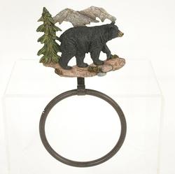 Bear Towel Ring