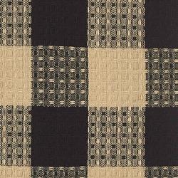 Wicklow Checked Dishcloth - Black & Cream
