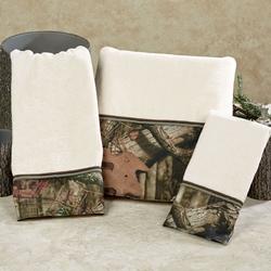 Mossy Oak Bath and Hand Towel Set
