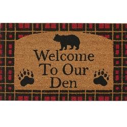Welcome to Our Den Door Mat