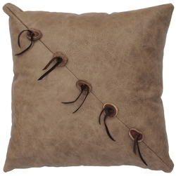 Daybreak Leather Pillow