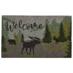 Watercolor Wildlife Doormat
