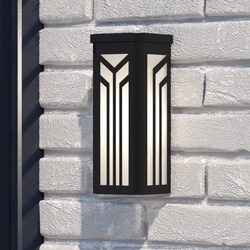 Evry 12 inch Tall Outdoor Wall Sconce