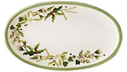 Holly & Ivy Spoon Rest or Soap Dish