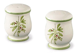 Holly & Ivy Salt & Pepper Shaker Set