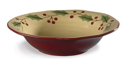Holly Center Piece Bowl