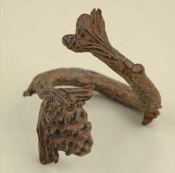 Pinecone Napkin Rings - set of 4