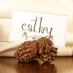 Pinecone Placecard Holder - Set of 2