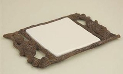 Pinecone Trivet - Cream