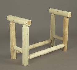 3' Log Style Firewood Rack