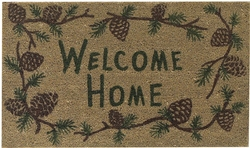 Pine Ridge Welcome Doormat