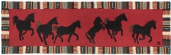 Cinnamon Horses 8' x 30