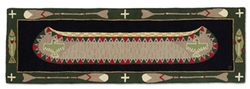 Long Boat Green - Runner 8' x 30
