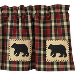 Concord Bear Lined Valance 60