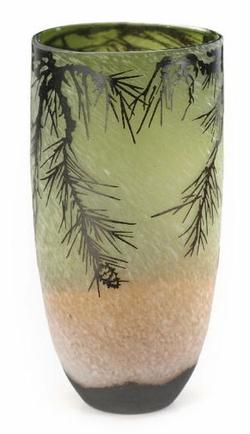 Europa Artisan Glass Pinecone  15