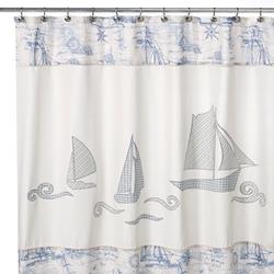 Schooner Shower Curtain