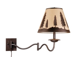 Yosemite Swing Arm Wall Light