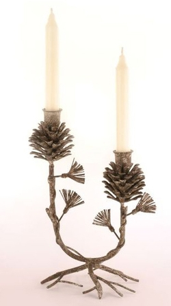 Europa Pinecone Candleholder 10