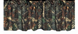 Oak Camouflage - Curtain Valance