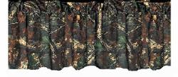 Oak Camouflage - Curtain Valance