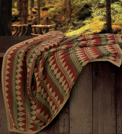 Wilderness Ridge Knit Throw