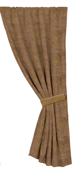 Faux Suede Curtain - 48