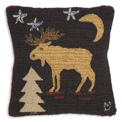 Night Moose Pillow 18