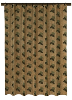 Pine Cones Shower Curtain 72