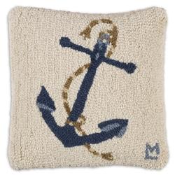 Blue Anchor on White 14