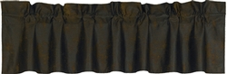 Matching Faux Leather Valance