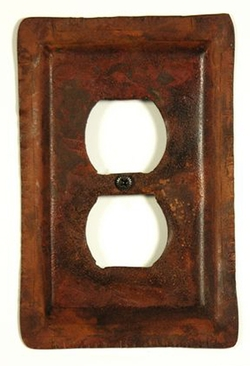 Heavy Rustic Switch Plates