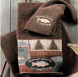 Pineland Mocha Hand Towel 16